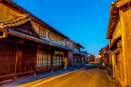 亀山市の関宿の写真素材 [FYI02044919]