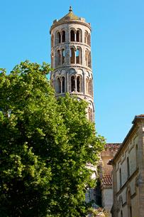 フェヌストレーユの塔 サン・テオドリ大聖堂 ユゼス フランスの写真素材 [FYI02044956]