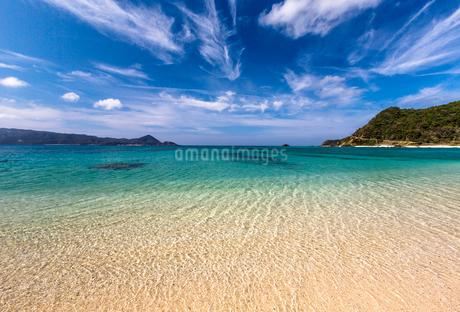 奄美大島のビーチの写真素材 [FYI02045046]
