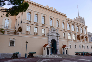 モナコ大公宮殿の写真素材 [FYI02045049]
