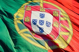 ポルトガル国旗の写真素材 [FYI02045178]