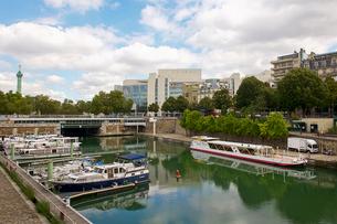 アーセナル港 パリ フランスの写真素材 [FYI02045232]