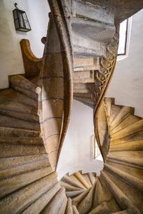 二重の螺旋階段の写真素材 [FYI02045696]