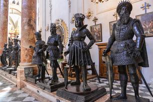 インスブルックの宮廷教会の写真素材 [FYI02045709]