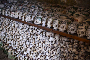 ハルシュタット納骨堂の写真素材 [FYI02045732]