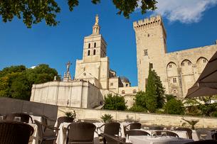 ノートルダム・デ・ドン大聖堂 アヴィニョン フランスの写真素材 [FYI02046139]