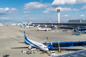 中部国際空港の写真素材 [FYI02046308]