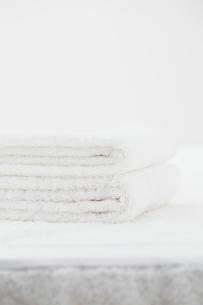 畳んだタオルの写真素材 [FYI02046547]