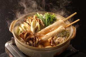 きりたんぽ鍋の写真素材 [FYI02046726]