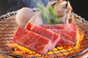 焼き肉の写真素材 [FYI02046974]