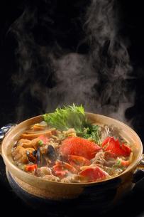 海鮮鍋の写真素材 [FYI02048550]