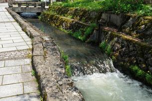 用水路の写真素材 [FYI02048685]