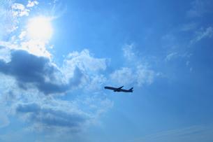 飛行機 ボーイング787の写真素材 [FYI02048969]
