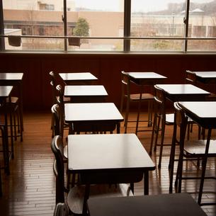 教室の写真素材 [FYI02049053]