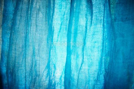 青い布の写真素材 [FYI02049089]