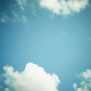 青空の雲の写真素材 [FYI02049439]