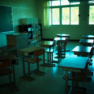 教室の写真素材 [FYI02049552]