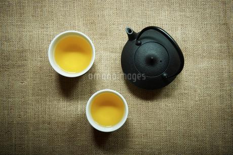 日本茶の写真素材 [FYI02049593]