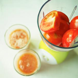トマトジュースの写真素材 [FYI02049767]