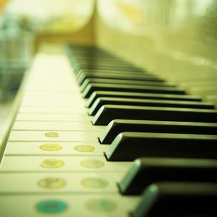 鍵盤の写真素材 [FYI02049909]