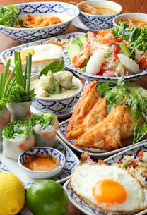 アジアン料理の写真素材 [FYI02050110]