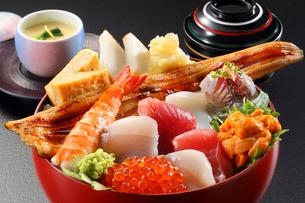 海鮮丼の写真素材 [FYI02050736]