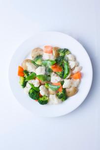 温野菜サラダの写真素材 [FYI02050794]