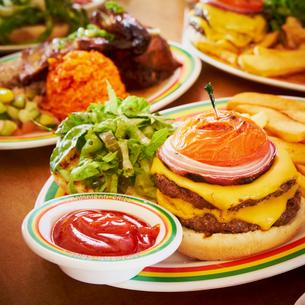 ハンバーガーの写真素材 [FYI02050919]