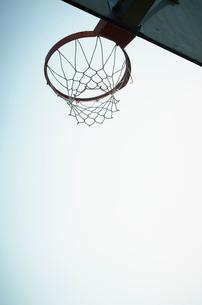 バスケットボールのゴールの写真素材 [FYI02051781]
