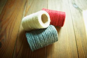 糸の写真素材 [FYI02051790]