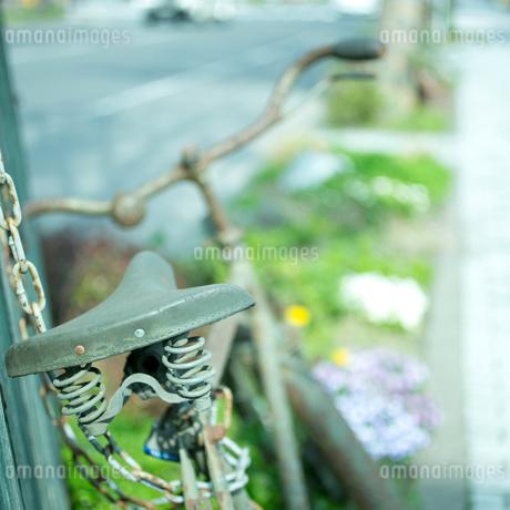 古い自転車の写真素材 [FYI02051931]