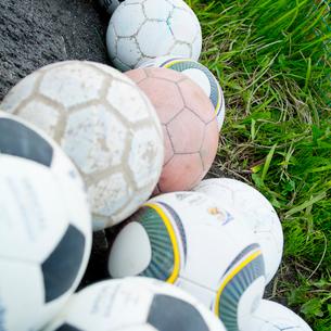 サッカーボールの写真素材 [FYI02051933]