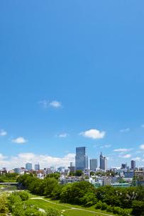 仙台市全景 宮城県の写真素材 [FYI02051976]