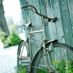 古い自転車の写真素材 [FYI02052015]