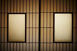 和室の障子の写真素材 [FYI02053237]