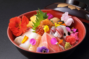 海鮮丼の写真素材 [FYI02053268]
