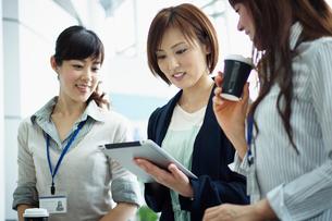 ビジネススタイルの女性3人の写真素材 [FYI02053325]