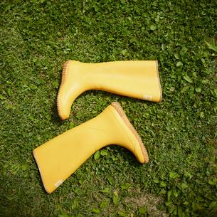 黄色い長靴の写真素材 [FYI02053361]