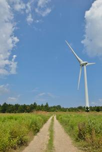 布引高原の風車の写真素材 [FYI02053954]