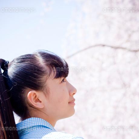 10代女性の横顔の写真素材 [FYI02055017]
