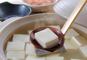 湯豆腐の写真素材 [FYI02055037]