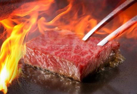 ステーキの写真素材 [FYI02055666]
