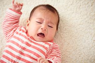 泣く赤ちゃんの写真素材 [FYI02056223]