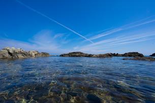 千畳敷付近の海の写真素材 [FYI02057301]