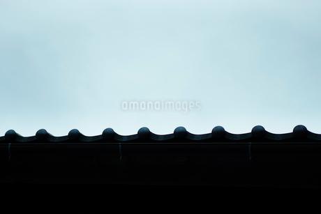 瓦屋根の写真素材 [FYI02057330]