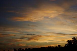 夕焼け空の写真素材 [FYI02057785]