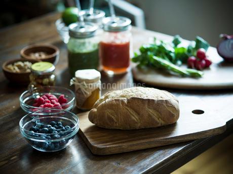 朝食の食材の写真素材 [FYI02058119]