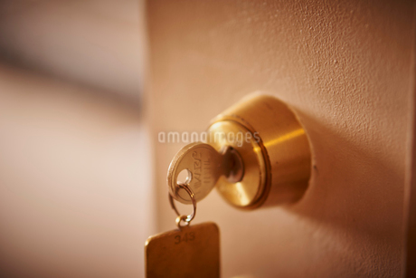 ドアの鍵の写真素材 [FYI02058329]
