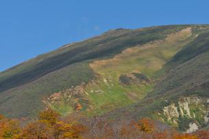 月山秋景 山形県の写真素材 [FYI02058358]