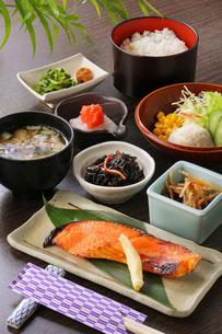 和食の朝食の写真素材 [FYI02059448]